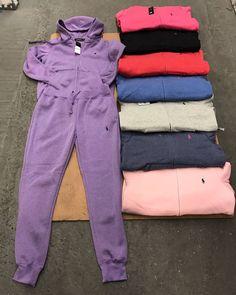 83760ab05a298 LADIES POLO JOGGING SUIT  80 SIZES SM- 2XL Polo Jogging Suits