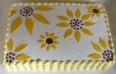 Sunflower Cake | The Dessert Girl