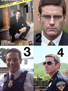 Carl Marino, as Lt. Joe Kenda, Homicide Hunter.......watch on I.D. (Investigation Discovery) channel.