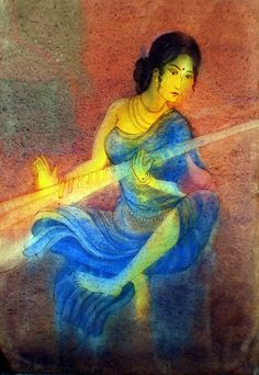 musician.... - Painting by Charu Rana in my painting at touchtalent 33405