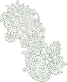 Getting some ideas for a lace tattoo