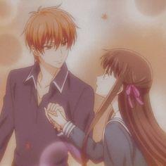 Kyo And Tohru, Fruits Basket Manga, Tamako Love Story, Japanese Anime Series, Couple Illustration, Anime Japan, Anime Ships, Star Wars Art, Anime Couples