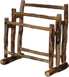 Aspen Gnarly Quilt Rack | Rustic Furniture Mall by Timber Creek