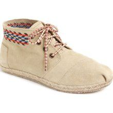 TOMS 'Botas Desert - Alarco' Chukka Boot (Women). I wouldn't mind having a pair of shoes in this style