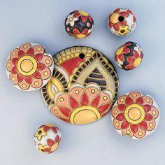 Flower Paisley Mandala by golemstudio on Etsy