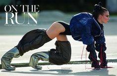 On The Run (Vogue Paris)