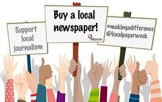 The importance of local newspapers | Maxim – PR, marketing and public affairs…