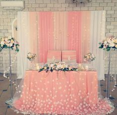 Quinceanera Decorations for Your Wedding Decoration Evenementielle, Backdrop Decorations, Diy Wedding Decorations, Diy Quinceanera Decorations, Wedding Centerpieces, Trendy Wedding, Wedding Styles, Our Wedding, Deco Rose
