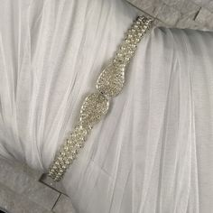 Excited to share this item from my shop: All around pearl beaded belt with clasp back for bride and bridesmaid. Flower girl belt, mother of the bride Bridal Belts, Bridal Sash Belt, Wedding Belts, Bridesmaid Belt, Brides And Bridesmaids, Pearl Beads, Silver Beads, Girls Belts, Rhinestone Wedding
