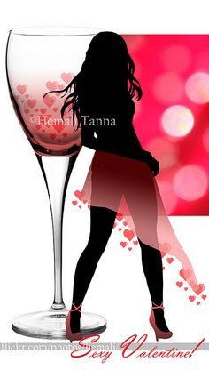 Sensual Valentine's Cards | photo Beautiful Women Videos, Very Beautiful Woman, Valentine Day Cards, Be My Valentine, Personalized Greeting Cards, Chick Flicks, Red Wine, Sexy Women, Lady