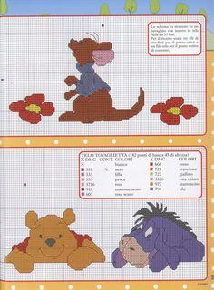 Roo, Pooh & Eeyore