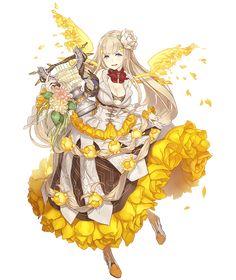 Game Character Design, Fantasy Character Design, Character Design Inspiration, Character Concept, Character Art, Anime Angel Girl, Anime Girl Cute, Anime Art Girl, Anime Style