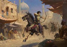 Persian horse archer