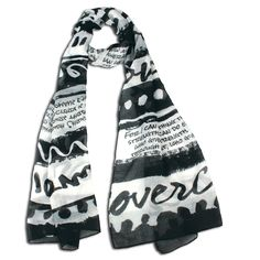 Overcomer Scarf with 4 Bible Verses Ephesians 3 20, Philippians 4 13, Romans 8 37, Give Me Strength, You Are Beautiful, Alexander Mcqueen Scarf, Bible Verses, Ready To Wear, Give It To Me
