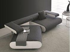 Convertible fabric sofa ALICE | Fabric sofa - Egoitaliano