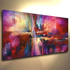 Modern painting Ideas - Details about Painting Abstract Giclee Canvas Print Michael Lang Art Contemporary Design. Amazing Paintings, Art Paintings, Portrait Paintings, Acrylic Paintings, Contemporary Paintings, Oil Painting Abstract, Painting Art, Abstract Canvas Art, Modern Art