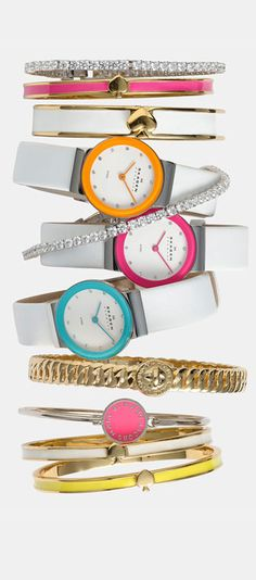 Kate Spade Bangles -♥✤ | Keep the Glamour | BeStayBeautiful