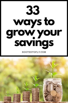 Looking for some ideas on how to add to your savings? Read these 33 ways that are tried and true! Ways To Save Money, Money Tips, Money Saving Tips, How To Make Money, House Swap, Money Makeover, Frugal Living Tips, Budgeting Money, Mindful Living