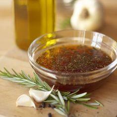 Balsamic-Rosemary Marinade (made several times, can decrease sugar and oil)