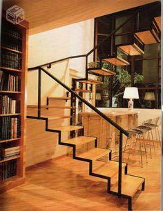 escadas metálica