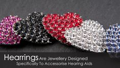 Hearing Aid jewelry-- aren't these cool? https://hearingcentral.com/shop/