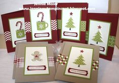 SUO-Christmas Cards in a Flash by CraftyJennie - Cards and Paper Crafts at Splitcoaststampers