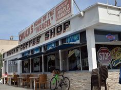 """Everyone remembers their first Weasel. The breakfast concoction of scrambled eggs topped with cheese and chili made Chuck's Coffee Shop in Belmont Shore """"Locally World Famous."""" For more than 50 years the restaurant's"""