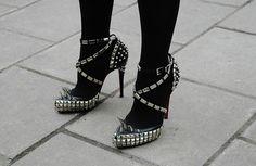 la modella mafia Shopping Inspiration studs and spikes - louboutinrodarte via Jak & Jil