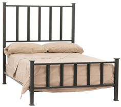 Stone County Ironworks - Mission Iron Full Bed, $1,259.00 (http://www.stonecountyironworks.com/shop-products/iron-beds/full/mission-iron-full-bed/)