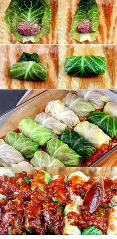 Amazing Stuffed Cabbage RollsYou can find Easy beef recipes for dinner and more on our website. Cabbage Rolls Recipe, Cabbage Recipes, Chicken Recipes, Pasta Recipes, Recipe Chicken, Rice Recipes, Beef Recipes For Dinner, Cooking Recipes, Healthy Recipes