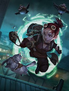 Gnome Thief. Entry for Competition. ©2015 Blizzard Ent