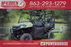 New 2017 Honda Pioneer 700-4 Deluxe - Honda Phanto ATVs For Sale in Florida. 2017 HONDA Pioneer 700-4 Deluxe - Honda Phanto, McKibben Powersport Honda is a family owned and operated dealership in Winter Haven, Florida. We are located at 3699 US HWY 17 N Winter Haven Fl, 33881 between US HWY 92 and Havendale Blvd. We proudly serve Polk county and the surrounding areas, to include Lakeland, Auburndale, Bartow, Kissimmee, Lake Alfred, and Sebring. We are a Honda Powerhouse Dealer and we…