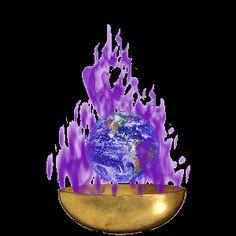 @solitalo YO SOY (x3) la Victoriosa Presencia de Dios Todopoderoso que mantiene el FUEGO VIOLETA DEL AMOR DE LA LIBERACIÓN flameando a través de cada parte de mi ser y mundo, y me sella en un Pilar...