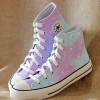 Galaxy Shoes, Galaxy Converse, Galaxy Galaxy, Sneakers Fashion, Fashion Shoes, Mode Kawaii, Sneaker Store, Kawaii Shoes, Hype Shoes