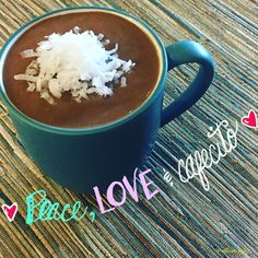I literally feel like a brand new person after breakfast.. Especially when breakfast is so simple satisfying & healthy.. 1 scoop caffe latte shakeology  Half banana  Coconut flakes  Water & ice  .... Blend & enjoy  by allison_cale