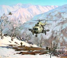 War in Afganistan by Svatula Michail