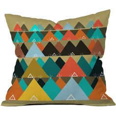 Dot & Bo Teepee Tent Throw Pillow - Pillow Cover Only ($31) ❤ liked on Polyvore featuring home, home decor and throw pillows