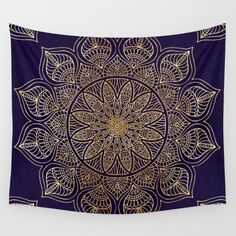 Gold+Mandala+Wall+Tapestry+by+Mantra+Mandala+-+$39.00
