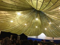 This Bride Ed A Parachute For Her Ceiling Only 35 Bucks Wedding Yes In Barn Forever And Always Pinterest Parachutes