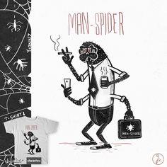 MAN - SPIDER on Threadless