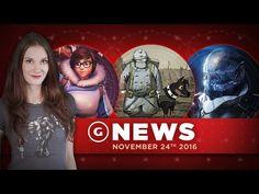 Mass Effect: Andromeda Info; Overwatch Christmas Event Leak? - GS News D...