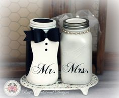 Ideas Bridal Shower Gifts For Bride And Groom Mason Jars For 2019 Bridal Shower Gifts For Bride, Wedding Shower Favors, Bridal Shower Rustic, Bride Gifts, Mason Jar Gifts, Mason Jar Diy, Car Themed Wedding, Bridal Shower Centerpieces, Vase Centerpieces