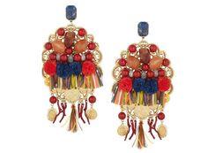 Dolce Gabbana Boucles doreilles clips à pompons