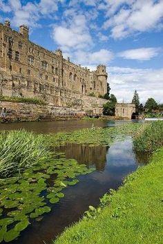 ღღ Warwick Castle, England ~~~ Warwick Castle is a medieval castle developed from an original built by William the Conqueror in 1068. by mariam
