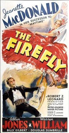 The Firefly Top Right: Jeanette Macdonald Bottom Left: Allan Jones 1937 Movie Poster Masterprint (24 x 36)