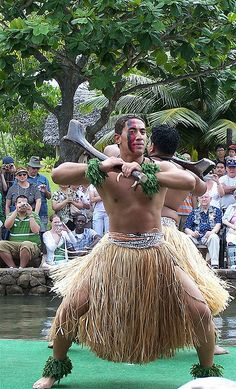 Polynesian Dance ~ Oahu, Hawaii