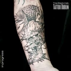 Dragon Tattoo bring power and protection to their owners. Definitely one of the timeless tattoo design of all times. Nice job done by