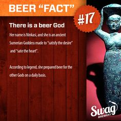 """Beer """"Fact"""" #17 from www.swagbrewery.com"""