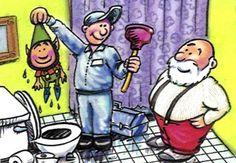 A little plumbing humor