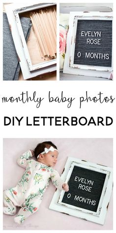 Monthly Baby Photos:
